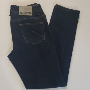 GALLIANO Denim Straight Leg Jeans size 30